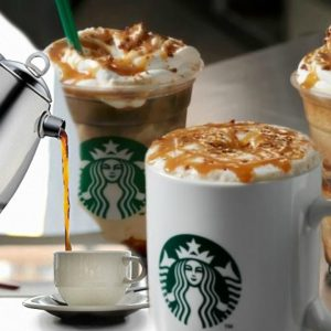 COPYCAT STARBUCKS Caramel Macchiato Hot & Cold Recipes | Feat. MINOS Moka Pot Espresso Maker