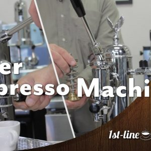 How Does A Manual / Lever Espresso Machine Work?