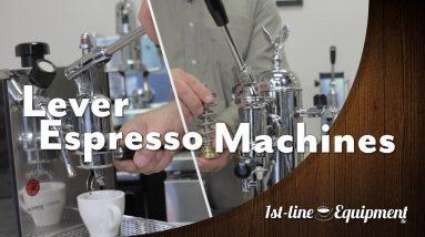 How Does A Manual / Lever Espresso Machine Work?