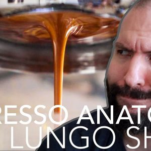 How to make a lungo shot