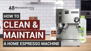 How to Clean and Maintain a Home Espresso Machine