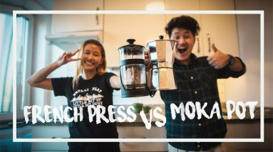 HOW TO MAKE COFFEE USING A MOKA POT & FRENCH PRESS