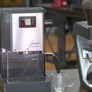 iDrinkCoffee.com Review - Gaggia Classic Espresso Machine
