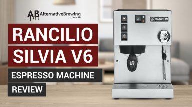 Rancilio Silvia V6 Espresso Machine Review