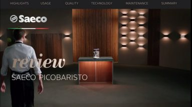 Saeco PicoBaristo professional barista review